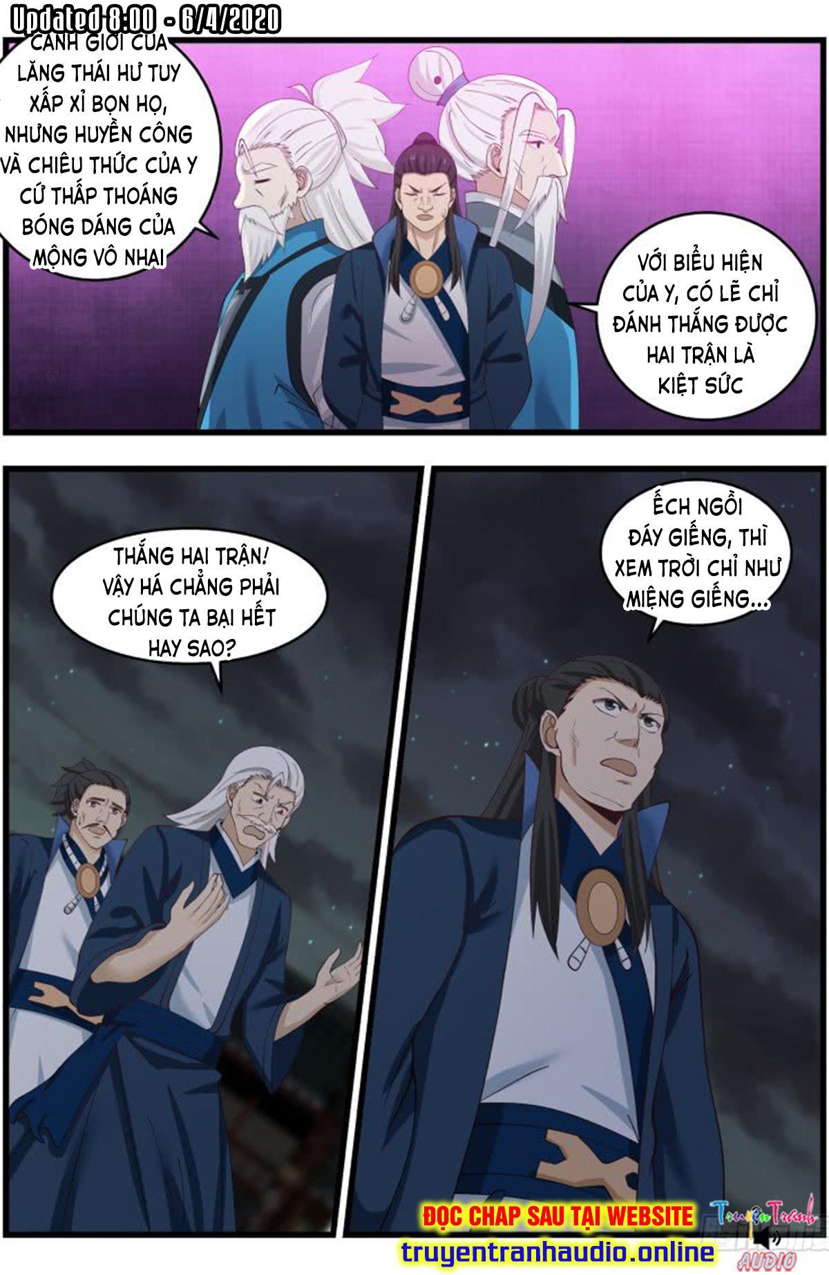 Võ Luyện Đỉnh Phong chap 507 - Trang 10